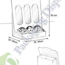 D3D013 Espositore da banco Perugina